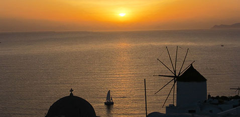 santorini-bus-tours-oia-sunset